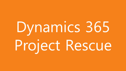 Microsoft Dynamics Project Rescue
