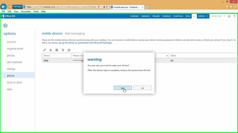 how to change drive status from optimal to online