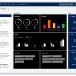 Microsoft CRM Interactive Service Hub Screenshot